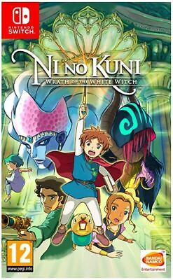 Ni No Kuni Wrath of the White Witch (Switch) NEW AND SEALED - QUICK DISPATCH