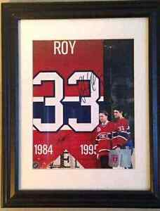 Autographed Hockey pictures