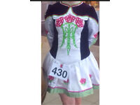 Irish dancing dress age 10-13 great condition