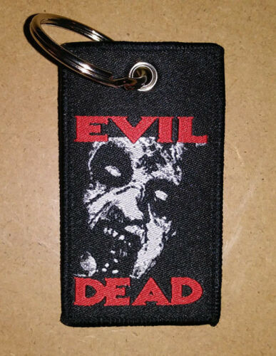 KEYCHAIN - The Evil Dead - HORROR  Ash Deadites Necronomicon punk Hag tag zipper