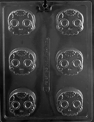 New Cookie Skull Candy Mold Chocolate Molds Day Of The Dead Oreo Oreos Skulls