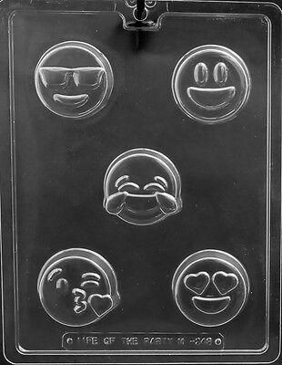 Emoji Cookie Oreo Sandwich Party Favor Chocolate Mold  Candy Same day ship m351