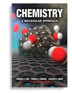 HARDCOVER chemistry a molecular approach
