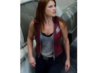 Buy Ali larter Alison Elizabeth Leather Vest for This Season