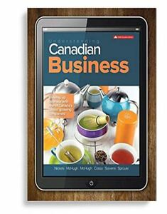 Understanding Canadian Business - Ninth Edition