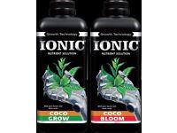 Ionic Coco Grow/Bloom 1L Plant feed/nutrient Hydroponics
