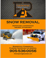 SNOW REMOVAL SERVICES 2018