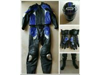 Frank Thomas Leathers, Shoei Helmet, Gloves, Boots