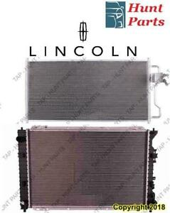 Lincoln AC compressor Condenser Radiator Support Fan Cooling Compresseur AC Condenseur Radiateur Support Ventilateur