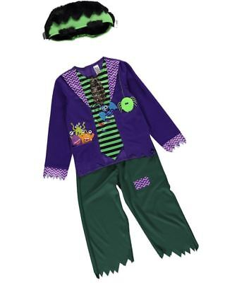 Boy George Halloween Kostüme (Boy Girl Halloween Frankie Frankenstein Fancy Dress Costume Baby Age 1 - 4 Years)