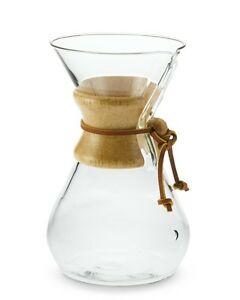 Glass carafe coffee maker (new in box)