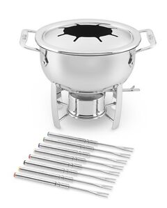 ALL- CLAD STAINLESS STEEL FONDUE SET