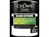 Crown Clean Extreme Scrubbable Matt Emulsion 2.5L Sneaky Peak