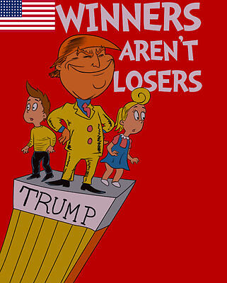 Winners Arent Losers Donald Trump Childrens Book