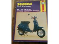 Suzuki cs50 & 80 roadie manual