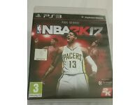 NBA 2k17 ps3 in very good condition!