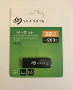 Mint Condition (New)- SEAGATE 32GB USB Flash Memory Drive/Key