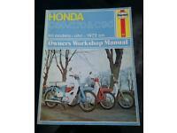 Honda cub manual