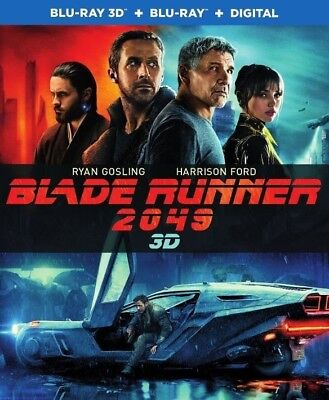 Blade Runner 2049 3D  Used  Blu Ray Only Disc Please Read