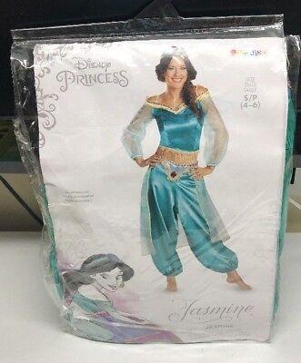 Disney Jasmine Princess Prestige Adult Costume Small 4-6](Jasmine Prestige Costume)