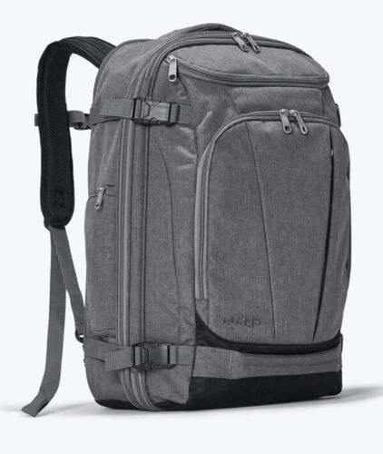 EBags Mother Lode Weekender Convertible Expandable Backpack Suitcase Gray NWOT - $49.99