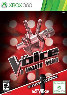 Activision The Voice W/microphone Xbox 360 Xbox 360, Xbox...