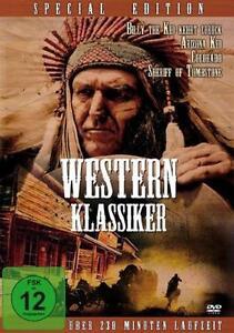 Western Klassiker - Special Edition (2014) - 4  Filme auf 1 DVD - neu & ovp
