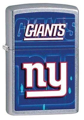 Zippo Street Chrome Lighter With New York Giants Logo,  28598, New In Box