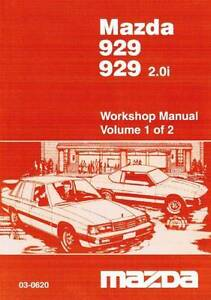 Mazda 929 10/ 1983 - 1986 Factory Workshop Manual Blacktown Blacktown Area Preview