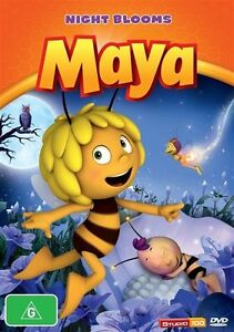 Maya The Bee - Night Blooms (DVD, 2013), NEW & Sealed, REGION 4