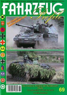 Fahrzeug Profile 69 Moderne Artillerie der Bundeswehr heute Modellbau/Fotos/BW