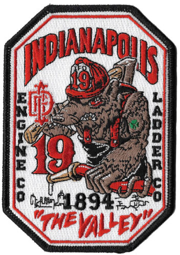 Indianapolis Station 19 The Valley Beast NEW Fire Patch