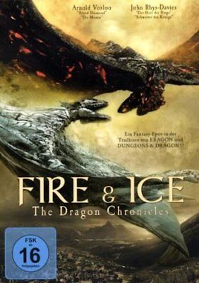 Fire & Ice - The Dragon Chronicles - DVD Fantasy Action Gebraucht - Gut