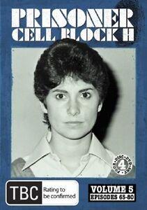 Prisoner - Cell Block H : Vol 5 Episodes 65-80 (DVD, 4-Disc Set) NEW