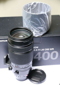Fuji 100-400mm OIS lens as new in box