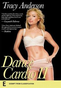 TRACY ANDERSON Dance Cardio II NEW & SEALED DVD 2013 Fitness Free Shipping R4 E