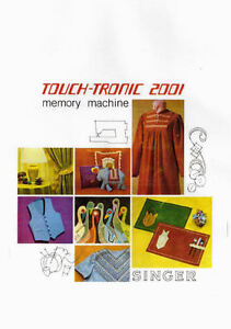 touch tronic 2001 memory machine
