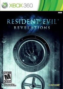 XBOX 360 Game For Sale or Trade - NEW Resident Evil Revelations