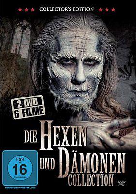 Die Hexen und Dämonen Collection - 6 Grusel Filme 2 DVD Box NEU Halloween Horror ()