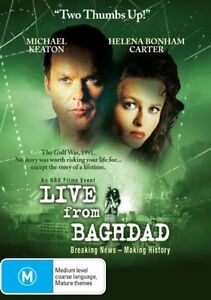 Live From Baghdad (DVD, Region 4) Michael Keaton - Brand New, Sealed