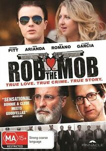 Rob the Mob (DVD, 2015) NEW R4
