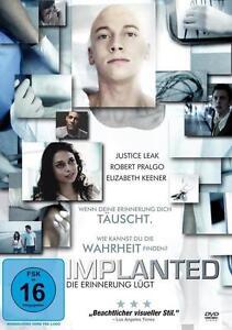 Leak, Justice - Implanted - Die Erinnerung lügt (OVP)