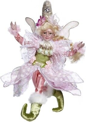 "2018 Mark Roberts  Butterfly Fairy Girl Small  9""  New 51-85202"