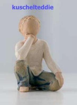 DEMDACO Figur *Inquisitive Child -  neugieriges Kind* Willow Tree