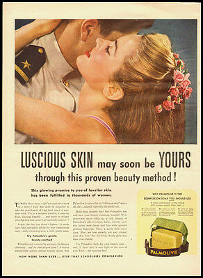 1940s vintage ad for palmolive Beauty Soap  -122611