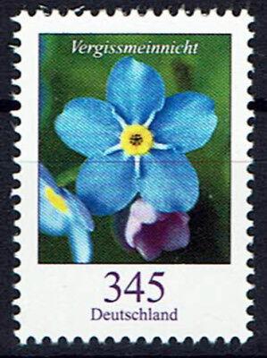 3324 ** , BRD 2017, Blumen. Vergißmeinnicht ,