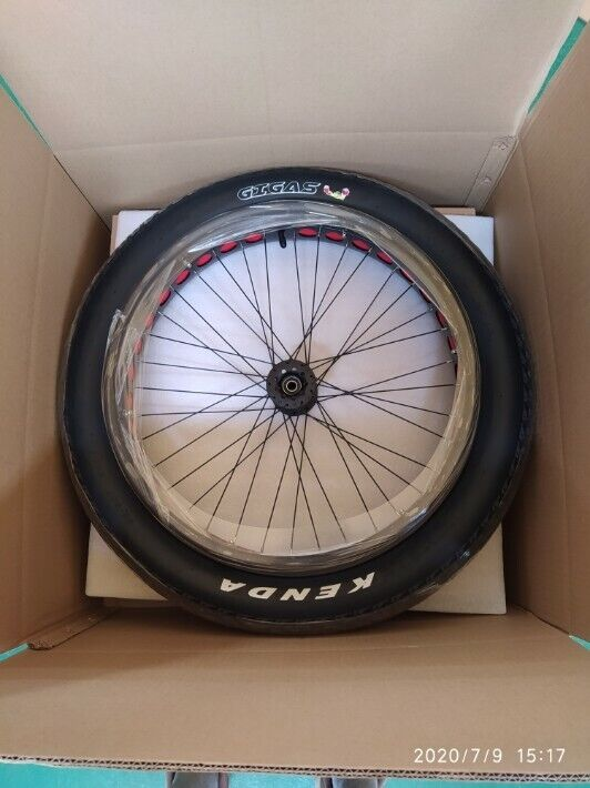 """Fat Tire Wheelchair Wheels 24"""" x 4"""" by MaxTraxx Mobility"""