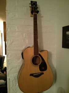 Yamaha Acoustic FGX720SCA Retails for $675
