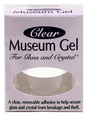 New Museum Adhesive Gel Clear Ready America Secure Glass Crystal Collectibles