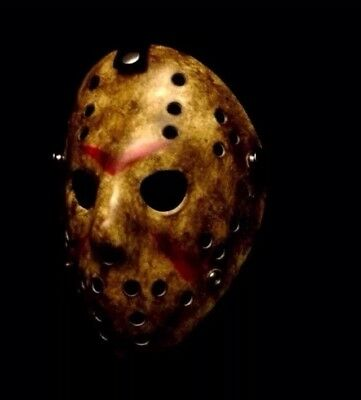 FRIDAY THE 13TH JASON VOORHEES HOCKEY MASK HALLOWEEN COSTUME PARTY HORROR PROP](Halloween Costume Jason Friday 13th)